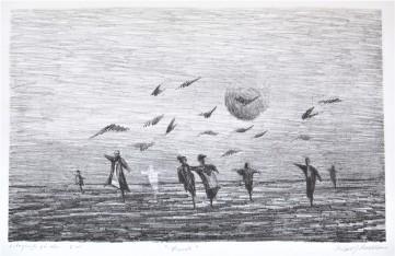 Dans i skymningen, 40x25